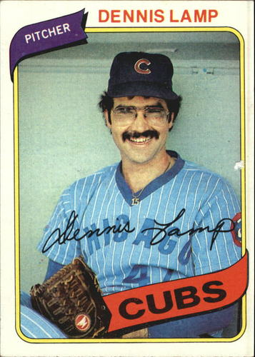 Photo of 1980 Topps #54 Dennis Lamp