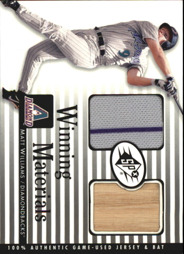 Photo of 2000 SPx Winning Materials #MW M.Williams Bat-Jsy