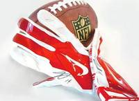 Dolphins WR Jarvis Landry's autographed gloves, a 65