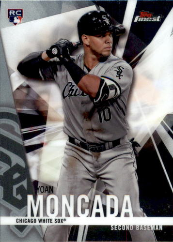 Photo of 2017 Finest #24 Yoan Moncada RC