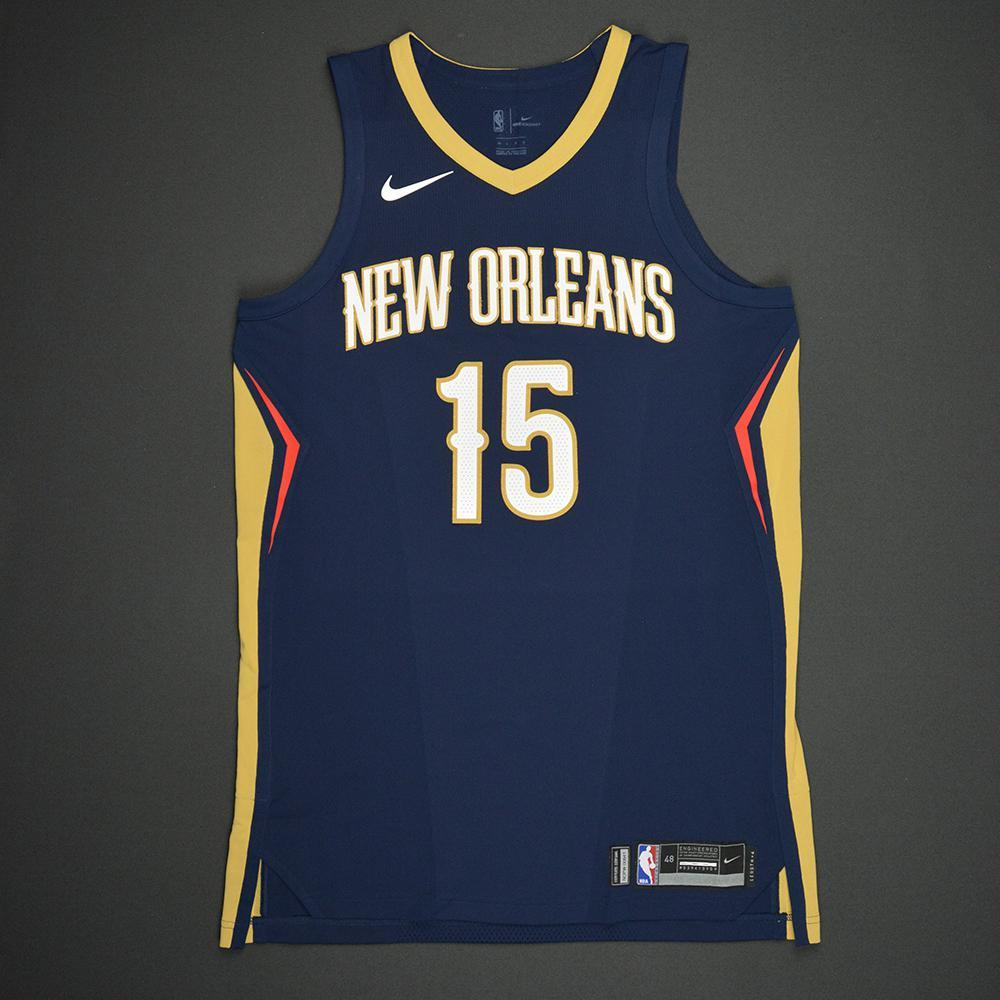 Frank Jackson - New Orleans Pelicans - 2017 NBA Draft - Autographed Jersey