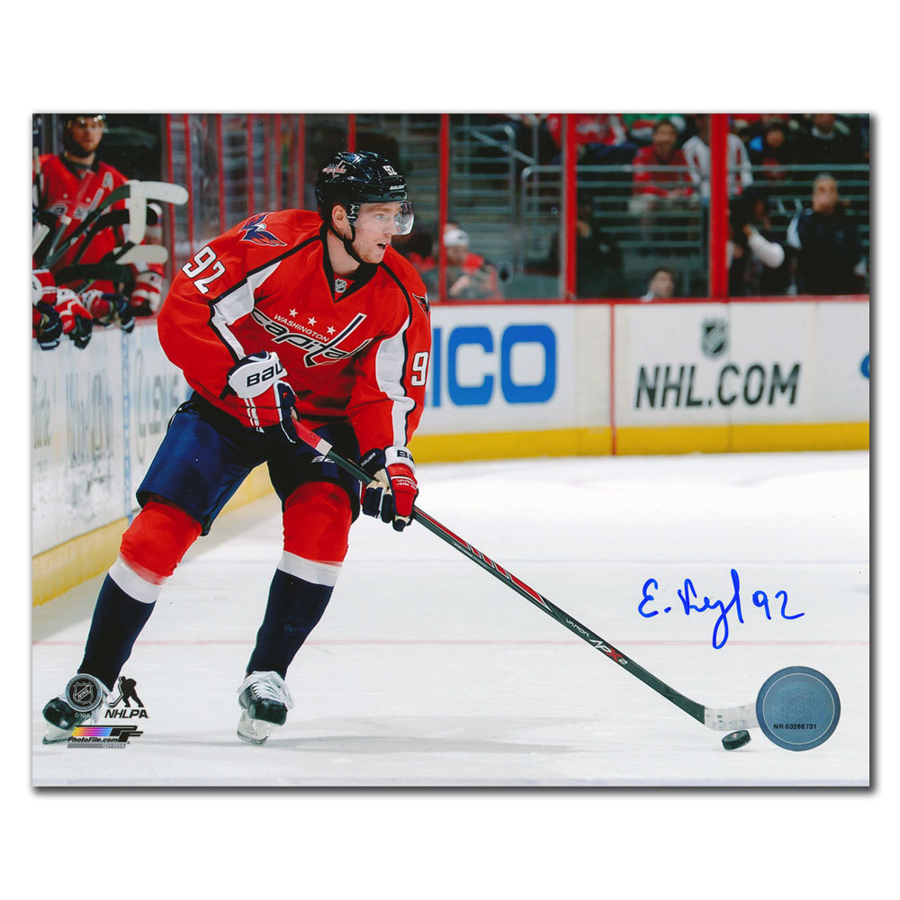 Evgeny Kuznetsov Washington Capitals Playmaker Autographed 8x10
