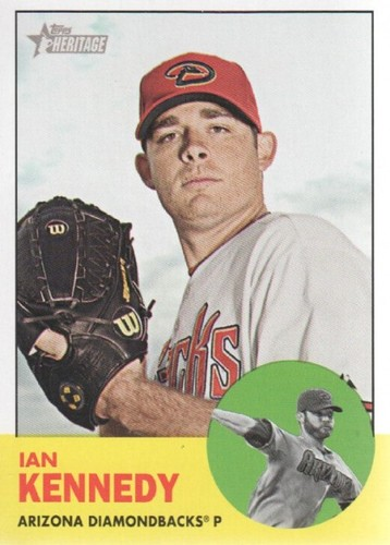 Photo of 2012 Topps Heritage #197A Ian Kennedy
