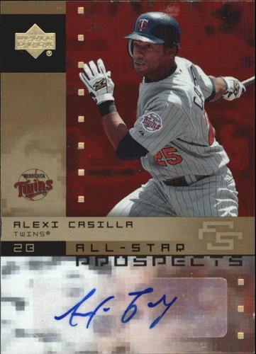 Photo of 2007 Upper Deck Future Stars All Star Futures Signatures #CA Alexi Casilla