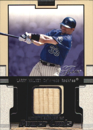 Photo of 2002 Flair Power Tools Bats #27 Larry Walker