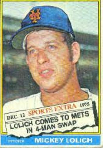 Photo of 1976 Topps Traded #385T Mickey Lolich