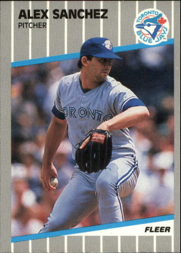 Photo of 1989 Fleer Update #71 Alex Sanchez RC