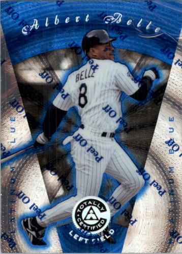 Photo of 1997 Pinnacle Totally Certified Platinum Blue #17 Albert Belle