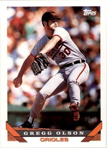 Photo of 1993 Topps #246 Gregg Olson