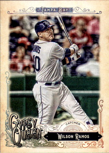 Photo of 2017 Topps Gypsy Queen #152 Wilson Ramos