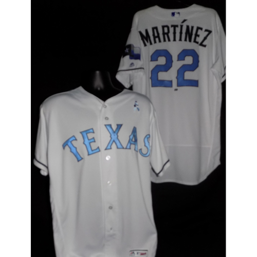 Photo of Nick Martinez 2017 Game-Used Father's Day Jersey