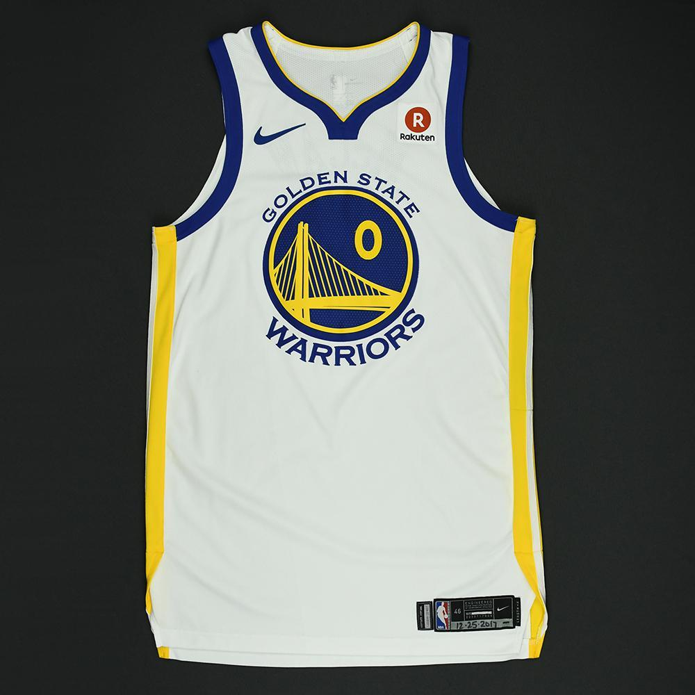 Patrick McCaw - Golden State Warriors - NBA Christmas Day '17 Game-Worn Jersey