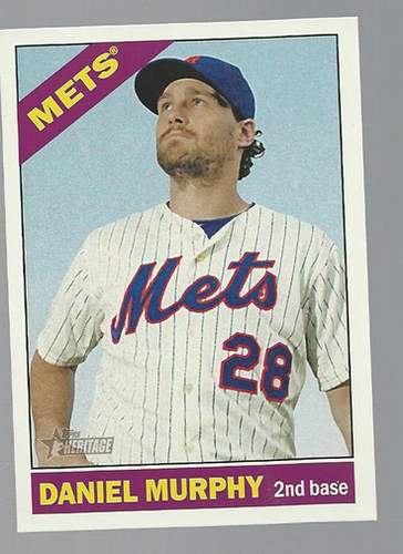 Photo of 2015 Topps Heritage #360 Daniel Murphy