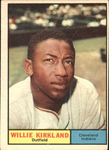 Photo of 1961 Topps #15 Willie Kirkland