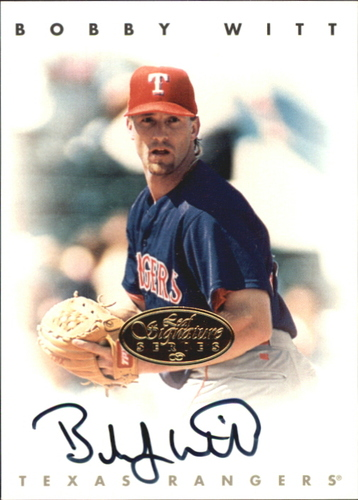 Photo of 1996 Leaf Signature Autographs Gold #248 Bobby Witt