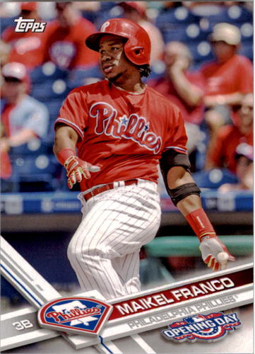 Photo of 2017 Topps Opening Day #17 Maikel Franco