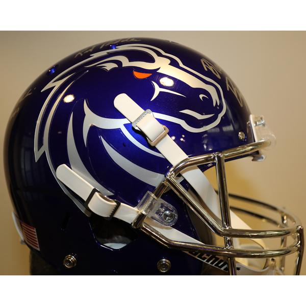 Boise State Autographed Full-Size Football helmet