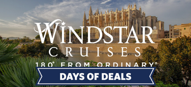 WINDSTAR 8-DAY SPANISH SERENADE CRUISE - PACKAGE 1 of 2
