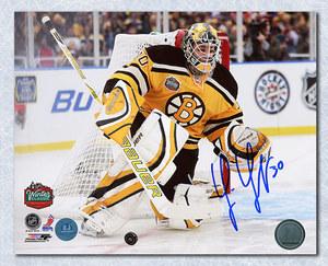 Tim Thomas Boston Bruins Autographed 2010 Winter Classic 16x20 Photo