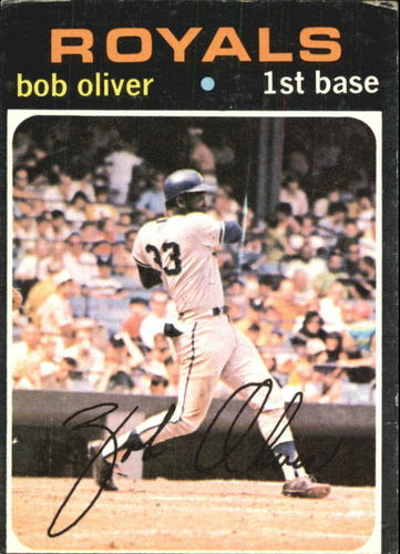 Photo of 1971 Topps #470 Bob Oliver