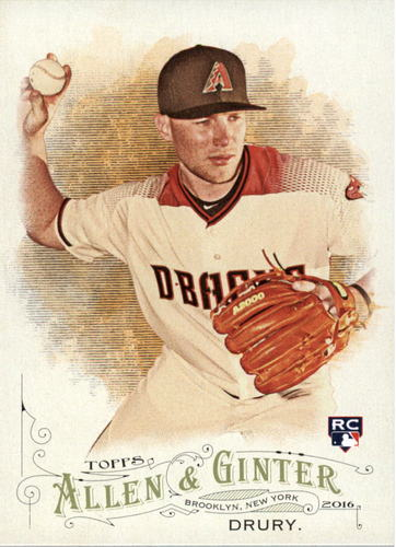 Photo of 2016 Topps Allen and Ginter #225 Brandon Drury RC