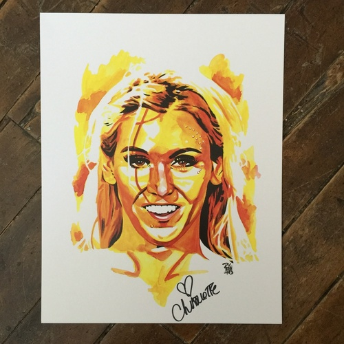 Charlotte SIGNED 11 x 14 Rob Schamberger Print