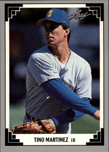 Photo of 1991 Leaf Previews #24 Tino Martinez