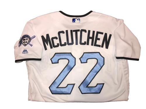 Photo of Andrew McCutchen Game-Used Father's Day Weekend Jersey - Worn on 6/17 & 6/18
