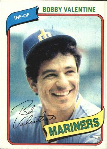 Photo of 1980 Topps #56 Bobby Valentine