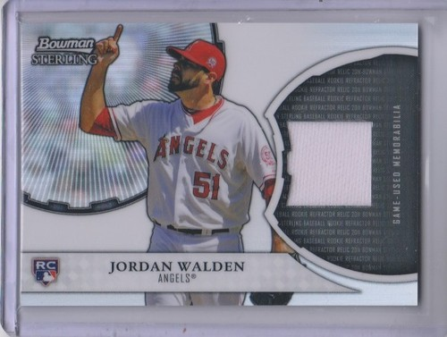 Photo of 2011 Bowman Sterling Rookie Relics #JW Jordan Walden