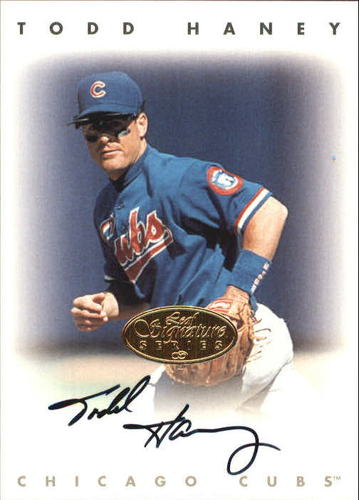 Photo of 1996 Leaf Signature Autographs Gold #93 Chris Haney