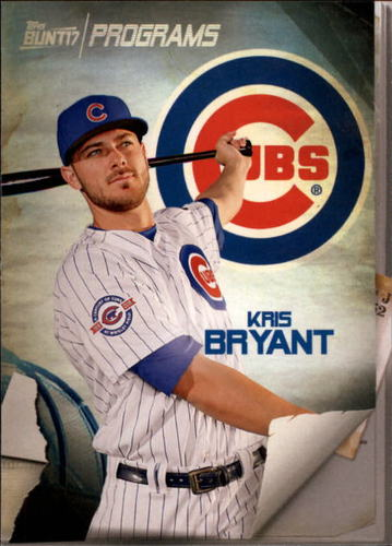 Photo of 2017 Topps Bunt Programs #PRKB Kris Bryant