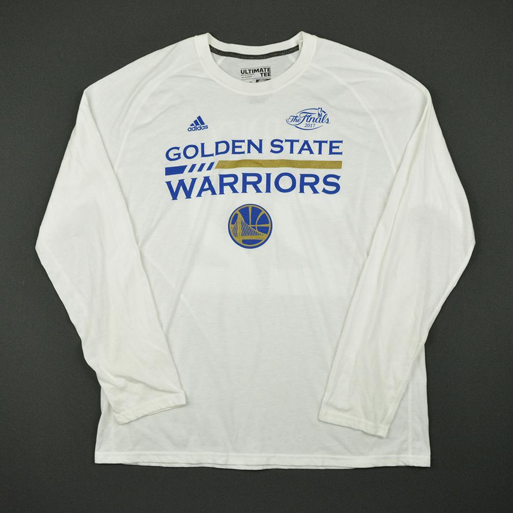 Klay Thompson - Golden State Warriors - 2017 NBA Finals - Game-Issued Shooting Shirt