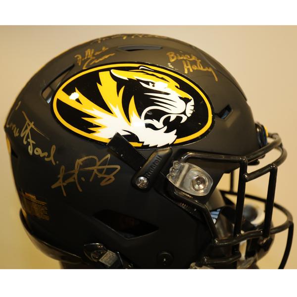 Missouri Autographed Full-Size Football Helmet