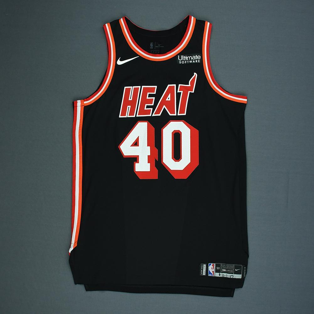 Udonis Haslem - Miami Heat - Game-Worn Classic Edition 1988-99 Road Jersey - 2017-18 Season