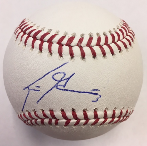 Photo of Scooter Gennett Autographed Baseball
