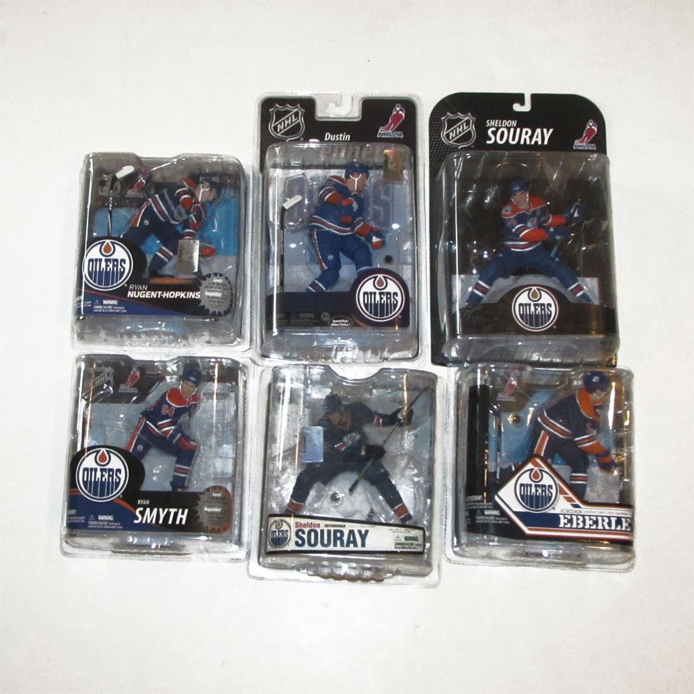 Edmonton Oilers McFarlane Figurine Lot - Five Figures