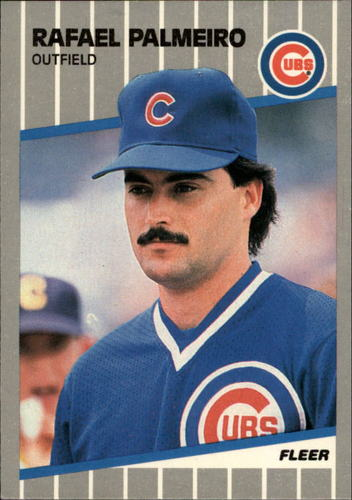 Photo of 1989 Fleer Glossy #434 Rafael Palmeiro