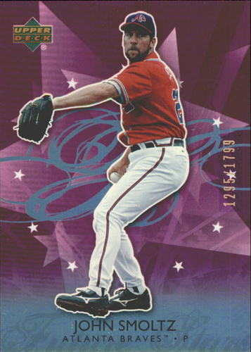 Photo of 2006 Upper Deck Future Stars Purple #7 John Smoltz