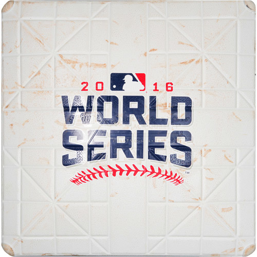 Photo of 2016 World Series Game 2: Game-used 3rd Base, Used during 3rd and 4th Innings