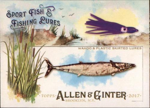 Photo of 2017 Topps Allen and Ginter Sport Fish and Fishing Lures #SFL18 Wahoo