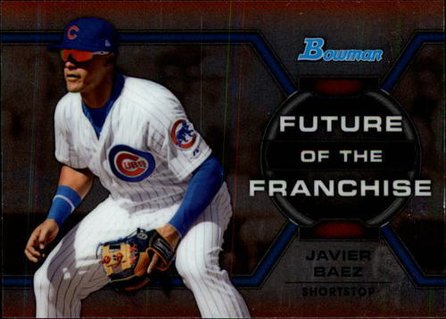 Photo of 2013 Bowman Draft Future of the Franchise #JB Javier Baez Cubs post-season