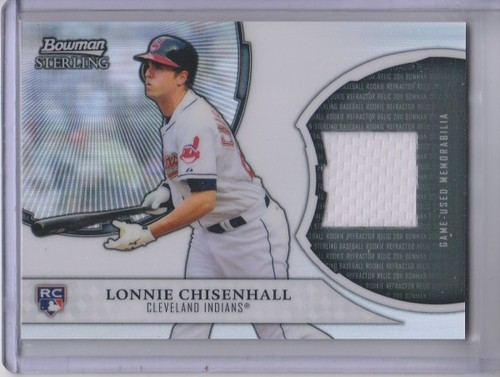 Photo of 2011 Bowman Sterling Rookie Relics #LC Lonnie Chisenhall