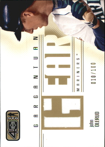 Photo of 2002 Upper Deck 40-Man Gargantuan Gear #GJO John Olerud