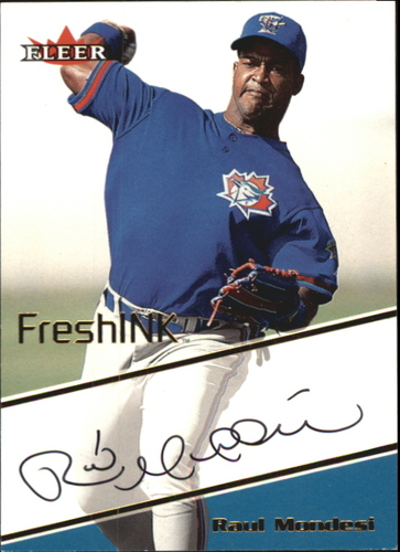 Photo of 2000 Fleer Mystique Fresh Ink #29 Raul Mondesi