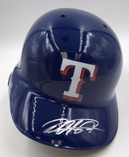 Photo of Rougned Odor Autographed Rangers Batting Helmet