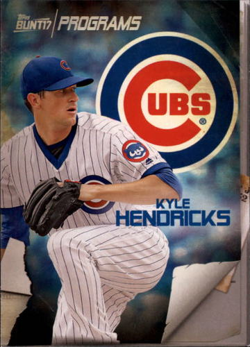 Photo of 2017 Topps Bunt Programs #PRKH Kyle Hendricks