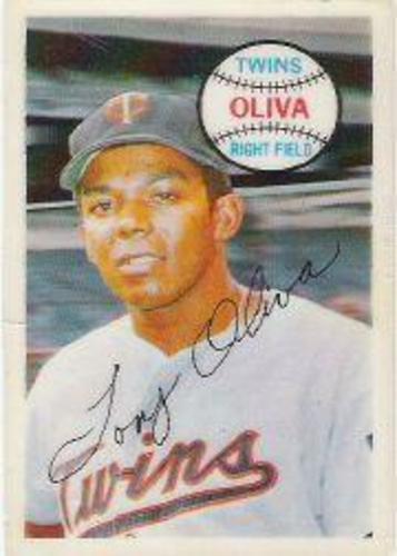 Photo of 1970 Kellogg's #63 Tony Oliva