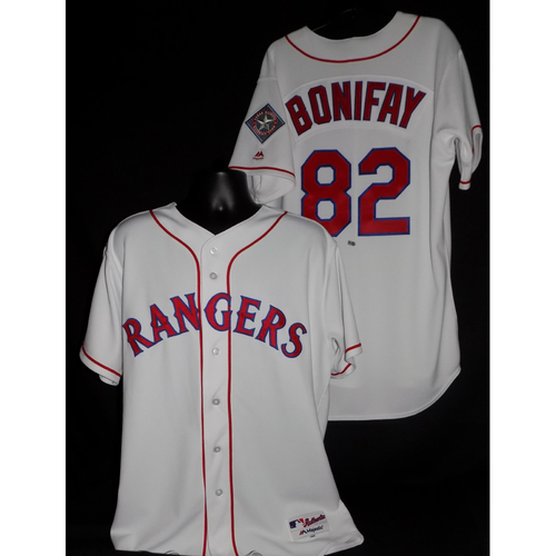 Photo of Josh Bonifay 2017 Game-Used Jersey