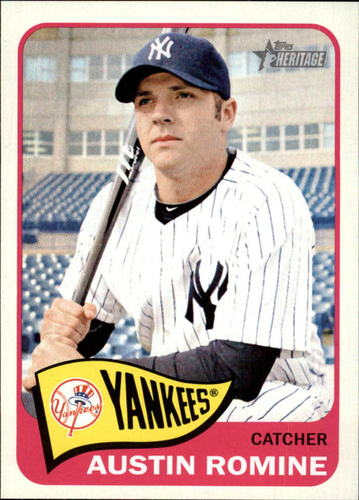 Photo of 2014 Topps Heritage #77 Austin Romine